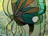 Witraż wiszący przy drzwiach tarasowych (100x50cm)