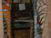 lustro witrażowe(182x75cm)
